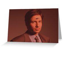 Mulder third eye  Greeting Card