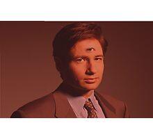 Mulder third eye  Photographic Print