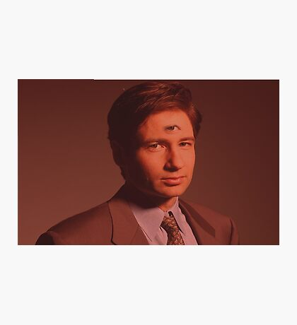 Mulder third eye  Photographic Print