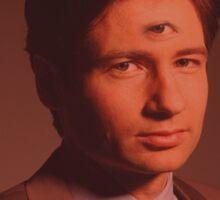 Mulder third eye  Sticker