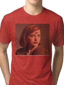 Scully Third Eye Tri-blend T-Shirt