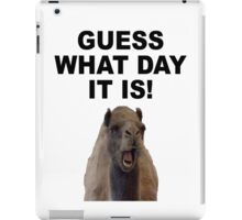 HUMP DAY iPad Case/Skin