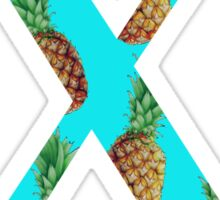 Chi Pineapple Letter Sticker