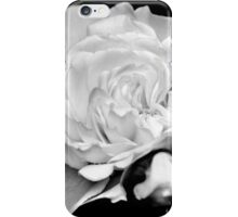 Rose Black and White iPhone Case/Skin