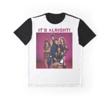 It's Alright - Saved By The Bell Graphic T-Shirt