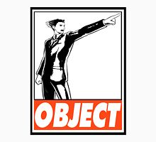 Phoenix Wright Object Obey Design Men's Baseball ¾ T-Shirt