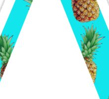Delta Pineapple Letter Sticker