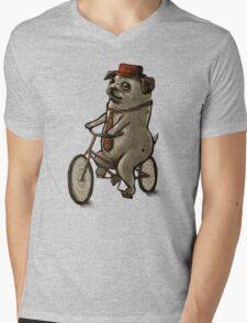 Puggin' Mens V-Neck T-Shirt