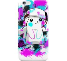 Pikachu Paint Splats iPhone Case/Skin