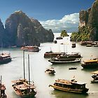 Halong Bay by phil decocco