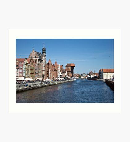 Gdansk ( Danzig ) - Poland   Art Print