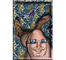 The Man Inside my Knee with Flowers in his Eyes Photographic Print