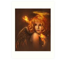 FireAngel Art Print