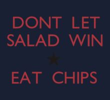 Dont let salad win! Kids Clothes