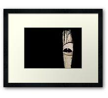 Sadako eye Framed Print