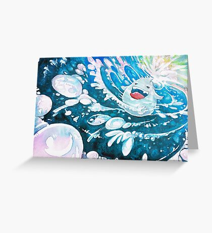 ˹Plum the Droplet˼ Greeting Card