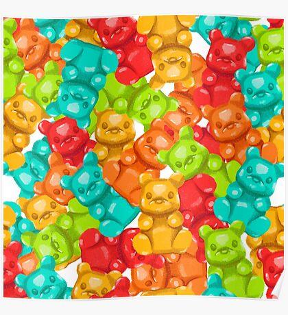 Gummy bears  Poster