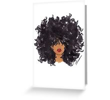 How To Be Curly Greeting Card