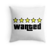 Wanted (GTA V) Throw Pillow