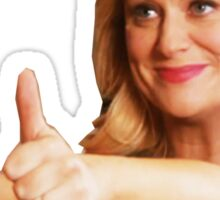 Leslie Knope -Thumb's Up Sticker