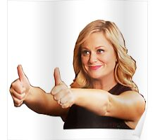 Leslie Knope -Thumb's Up Poster