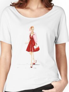 Stepping Out Women's Relaxed Fit T-Shirt