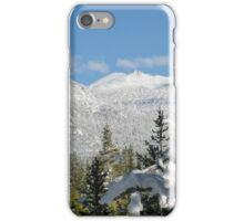 Snowy Freel Peak iPhone Case/Skin