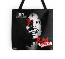 21 Savage Red Opps Tote Bag