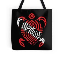 Scuba Flag Tribal Turtle Tote Bag