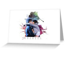 cockles rainbow Greeting Card