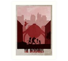 The Incredibles Art Print