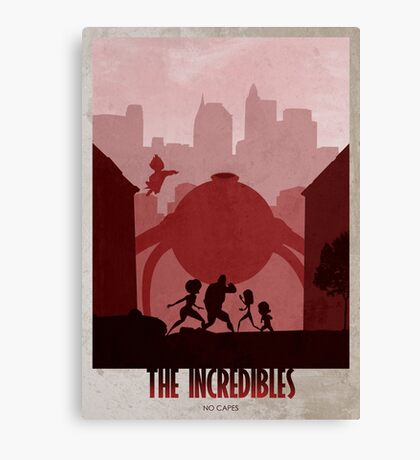 The Incredibles Canvas Print