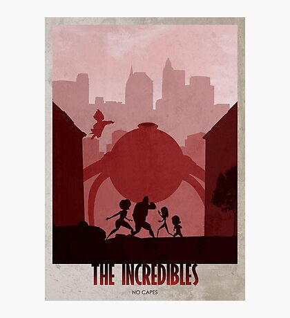 The Incredibles Photographic Print
