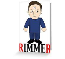 Arnold Rimmer Munchkin Greeting Card