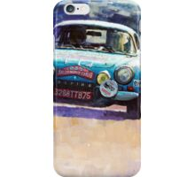 Rally Monte Carlo 1972 Alpine-Renault A110 1600  iPhone Case/Skin