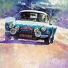 Rally Monte Carlo 1972 Alpine-Renault A110 1600  by Yuriy Shevchuk