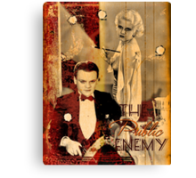 The Public Enemy and Jean Harlow Canvas Print