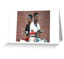21 Savage Greeting Card