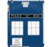 TARDIS Duvet & etc iPad Case/Skin