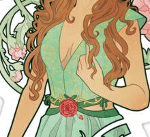 Nouveau Rose Sticker