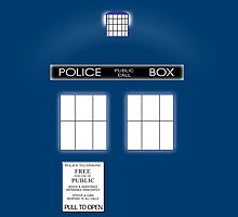 TARDIS Duvet & etc by LonewolfDesigns
