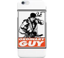 Ryu Ordinary Guy Obey Design iPhone Case/Skin