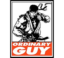 Ryu Ordinary Guy Obey Design Photographic Print