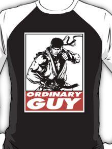 Ryu Ordinary Guy Obey Design T-Shirt