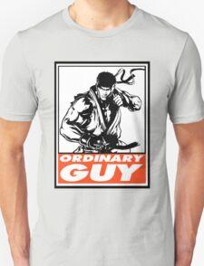 Ryu Ordinary Guy Obey Design Unisex T-Shirt