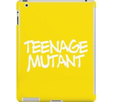 TEENAGE MUTANT iPad Case/Skin