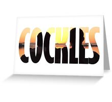 cockles Greeting Card
