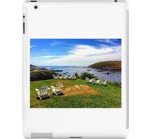 Monhegan Island, Maine iPad Case/Skin