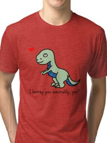 D'awww Inevitable Betrayal Tri-blend T-Shirt