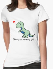 D'awww Inevitable Betrayal Womens Fitted T-Shirt